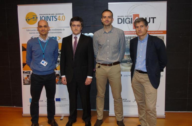 AIMEN presenta junto a Grupo Copo la UMI DIGI4AUT; y la consolidación de JOINTS 4.0 con GKN Driveline Vigo