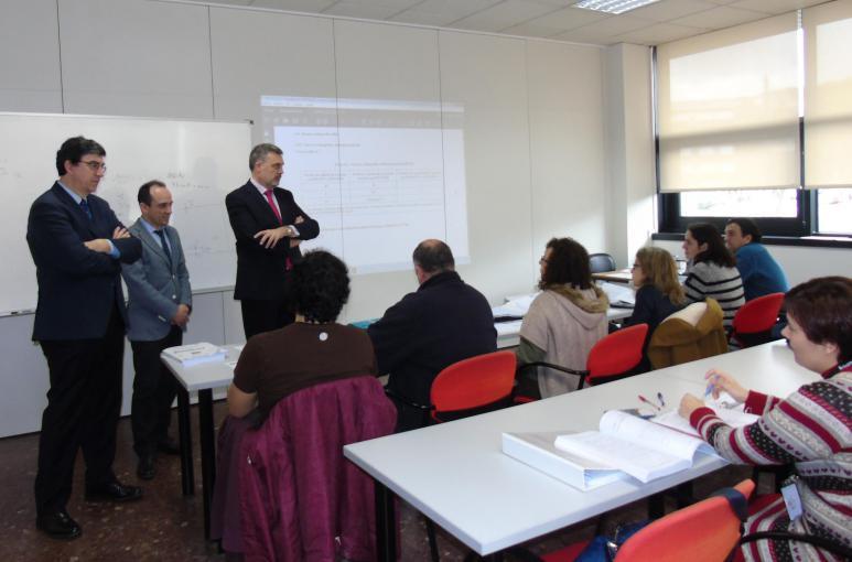 El director xeral de Orientación e Promoción Laboral de la Xunta de Galicia visita AIMEN