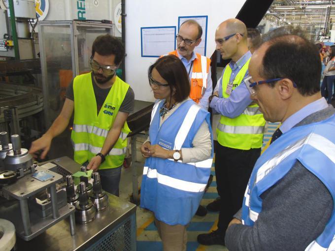 JOINTS 4.0, la UMI constituida entre AIMEN y GKN Driveline Vigo, apuesta por la fabricación inteligente